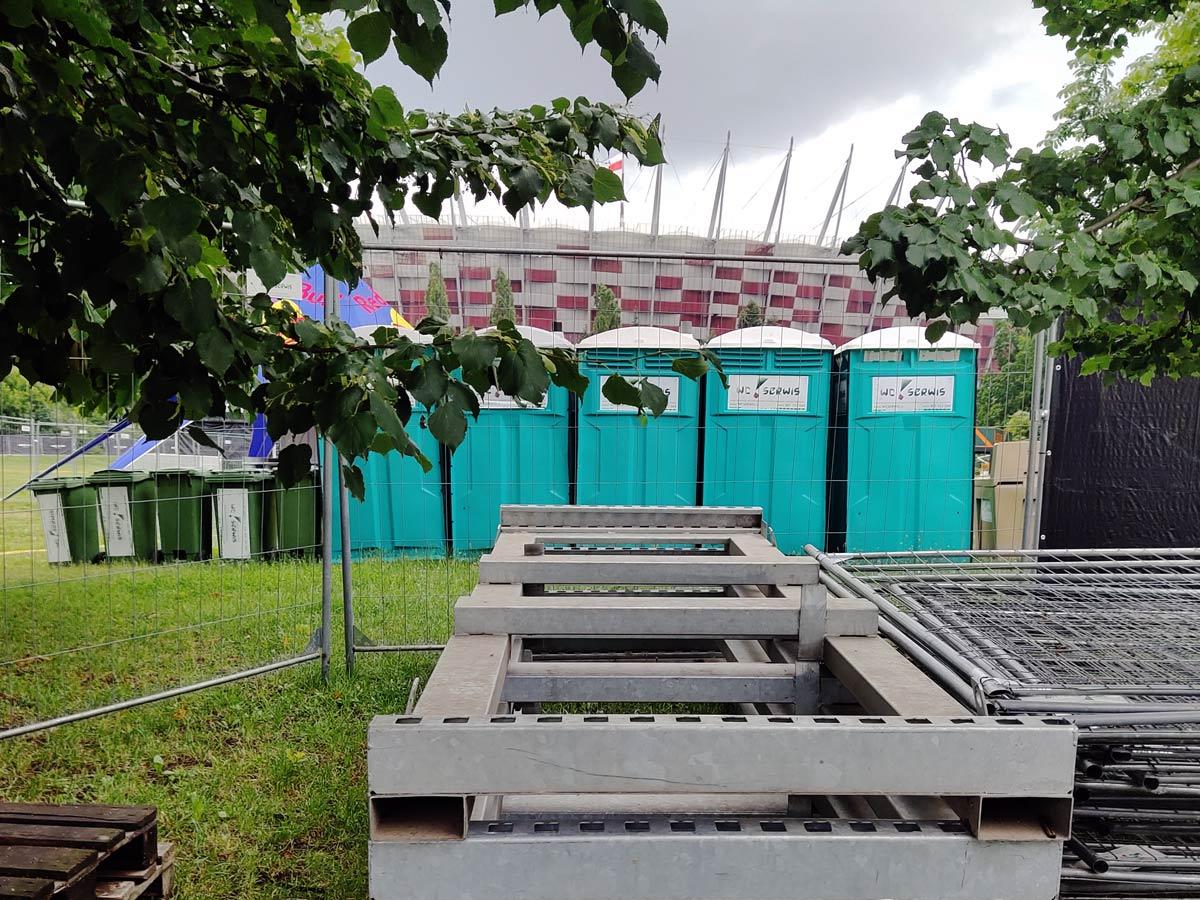 toalety przenośne Warszawa
